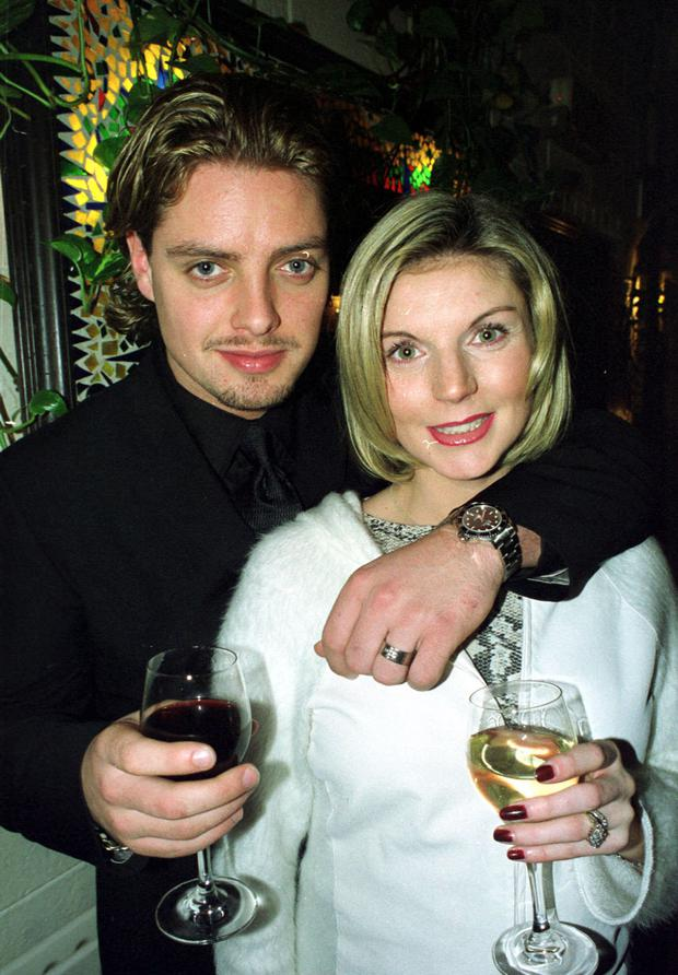 Boyzone star Keith Duffy, with wife Lisa