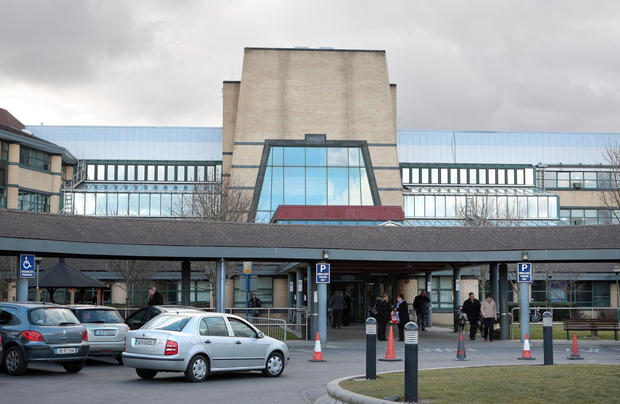 A Tallaght Hospital spokesperson said restrictions have been put in place with immediate effect