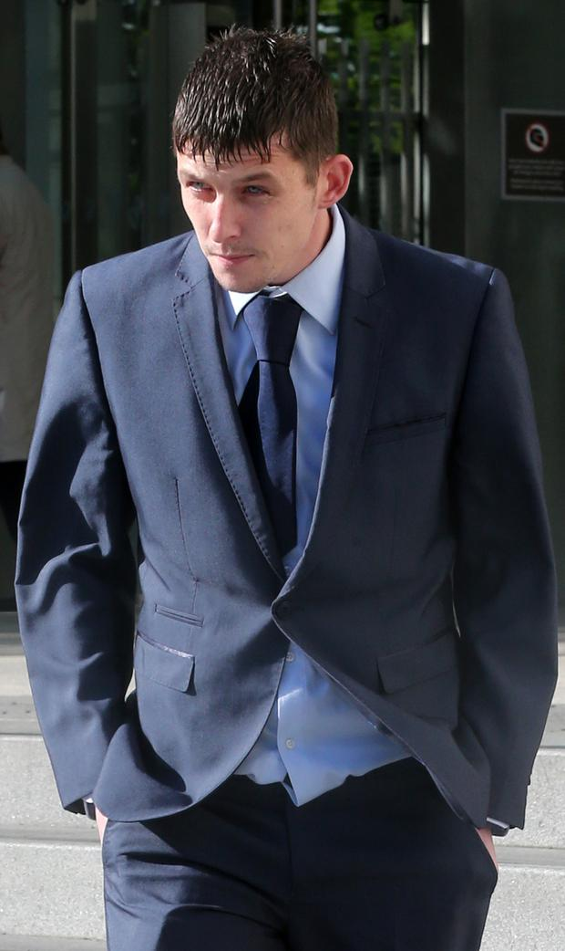 Gerard Stevens, James Reid and Graham Palmer (pictured) are among seven people accused of murdering Dale Creighton Picture: Collins Dublin