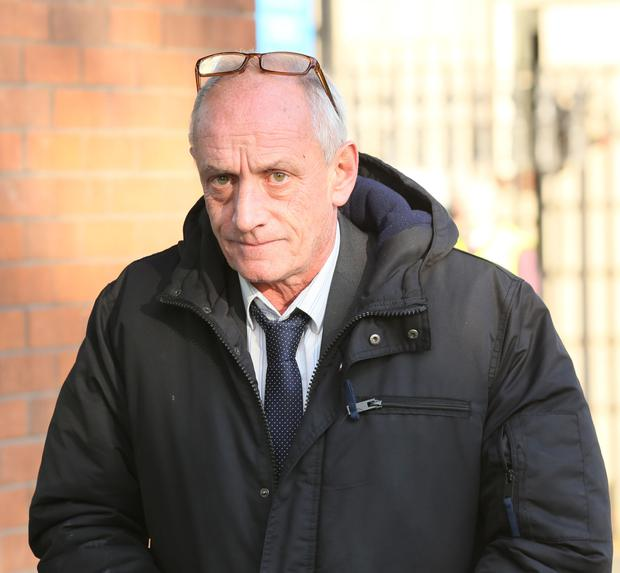 Jimmy Bishop used a codeword to alert gardai Picture: Collins