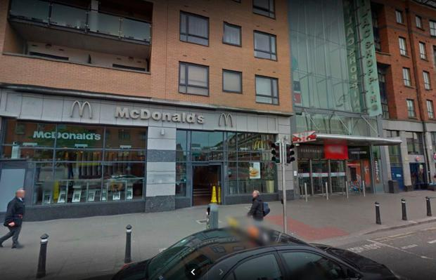 The McDonald's at the Ilac Shopping Centre
