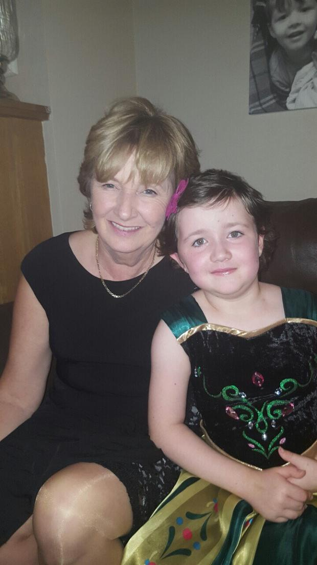 Mary Creary and her granddaughter Nicole