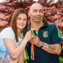 London 2012 gold medallist Katie Taylor with dad Pete