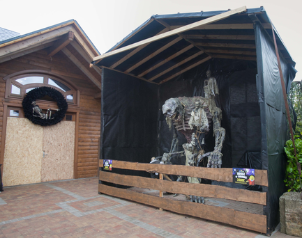 The House of Horrors at Tayto Park was boarded up following the incident