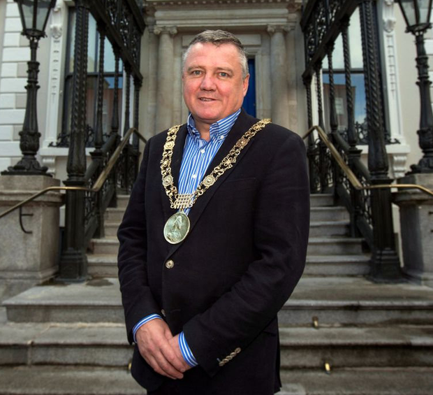 Dublin Lord Mayor Brendan Carr