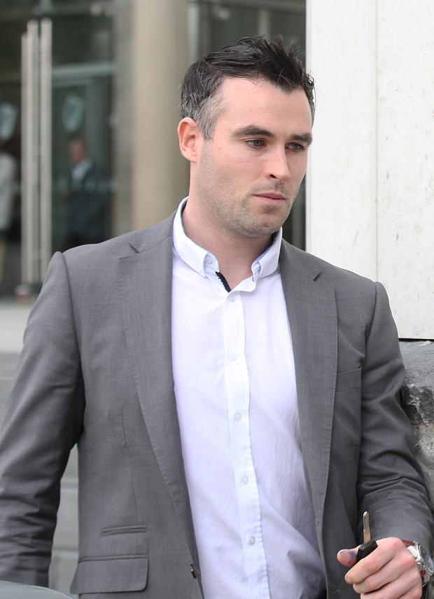 Cathal McCarron is very embarrassed, the court heard