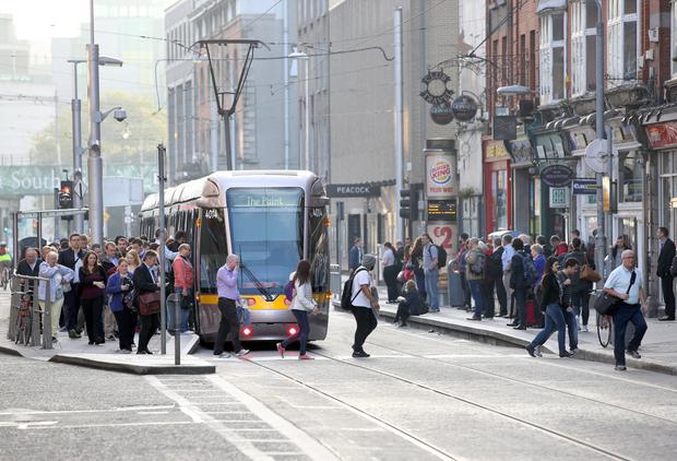 Luas Cross City works will be suspended before Black Friday on Dawson Street, the retail side of Nassau Street and Lower Grafton Street
