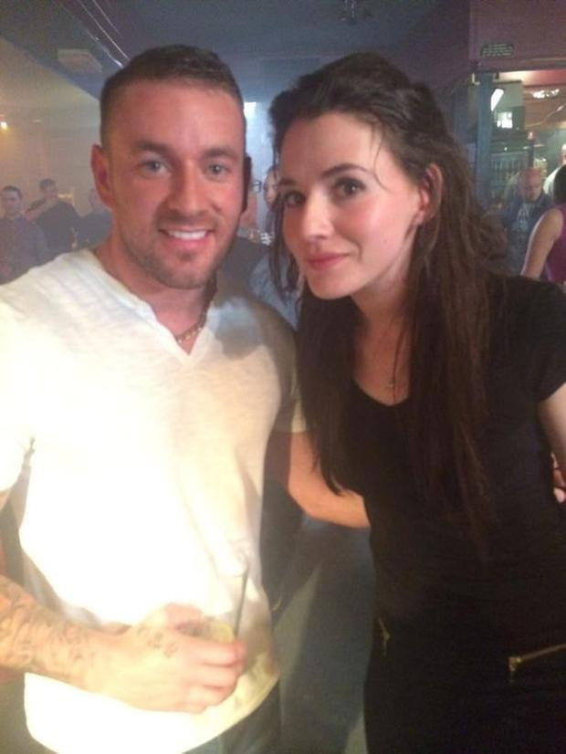 Dano with Siobhan in Love/Hate