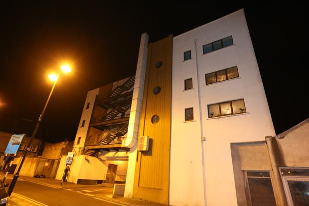 Block in Longford where woman was attacked
