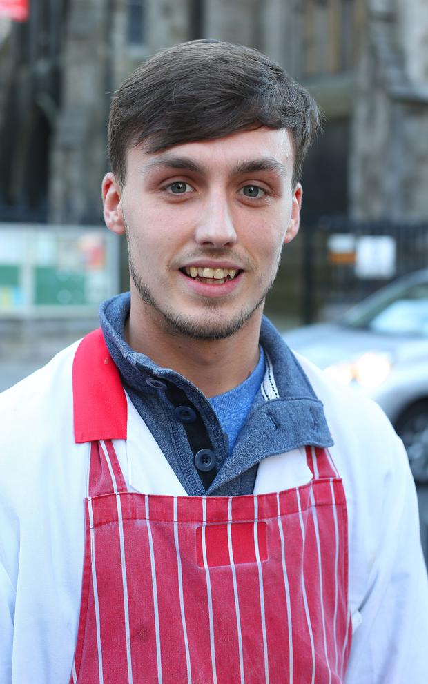 Mark Smith, 21, from the Liberties, said the only fish he eats is from the chipper