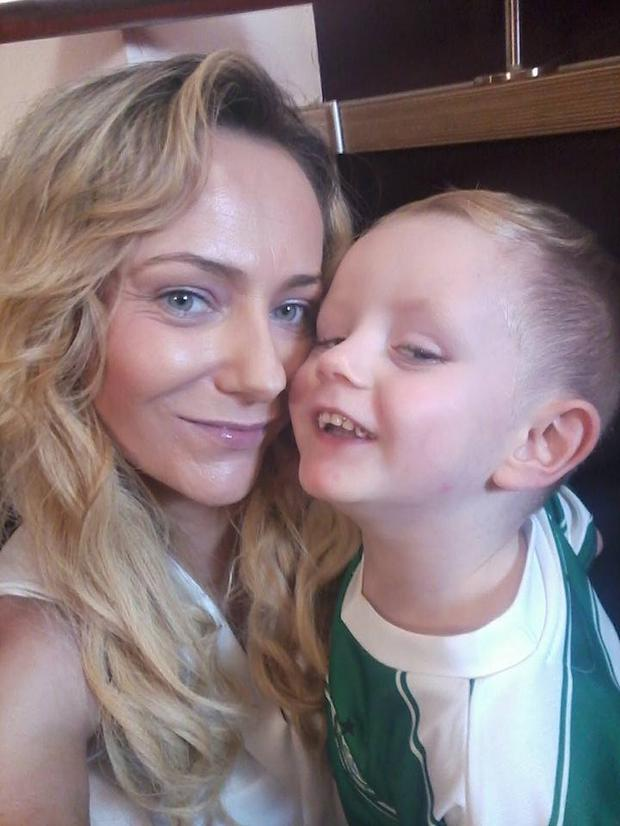 Living in emergency accommodation is like being locked up, says Mason's mum Siobhan