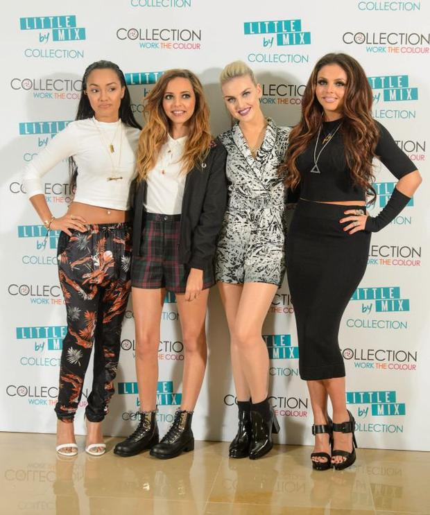 Little Mix spoke about racy outfits