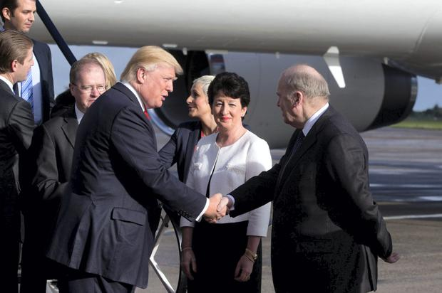 Michael Noonan met Donald Trump when he visited in 2014
