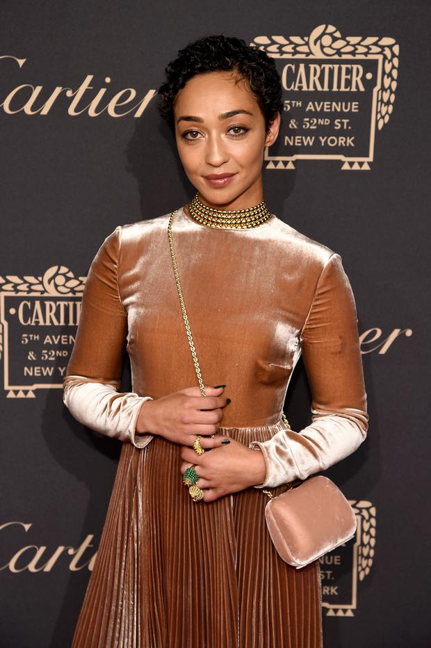 Ruth Negga stars as Mildred in period drama Loving. Pic: Getty Images