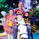 Pictured at the reveal of the theme of this year's Late Late Toy Show, which airs Friday, December 2nd at 9.35pm on RTÉ One, were: Toy Show presenter Ryan Tubridy with Lauren McMahon (5) and Cillian Ryan (4).