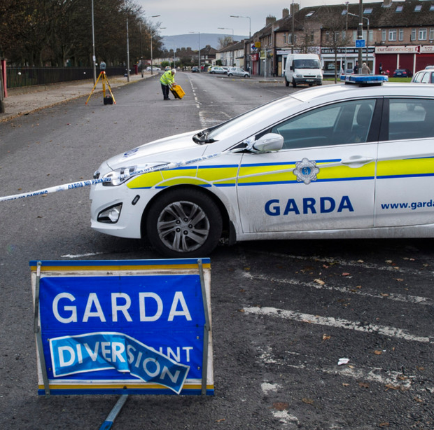 Gardaí at scene of 'Hit and Run' on Sundrive Rd