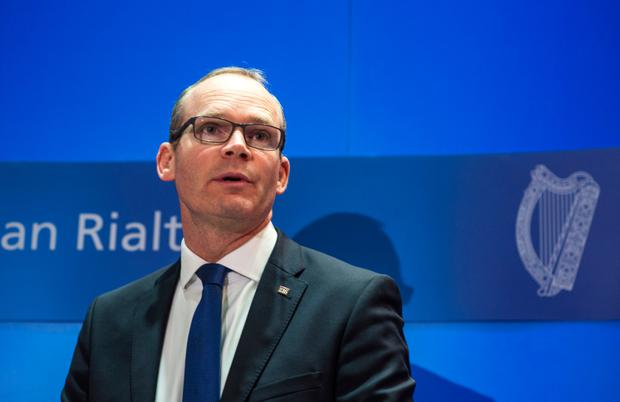 Simon Coveney Picture: Doug O'Connor
