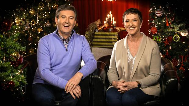 Daniel and Majella O'Donnell will look back on the past year