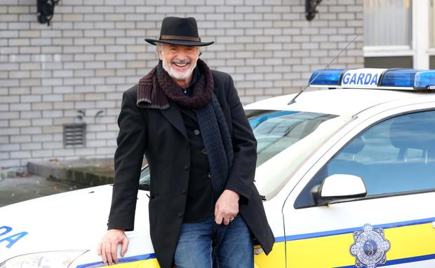 Patrick Bergin on the set of Red Rock Picture: Colin Keegan