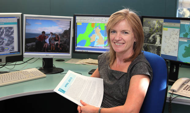 Forecaster Joanna Donnelly