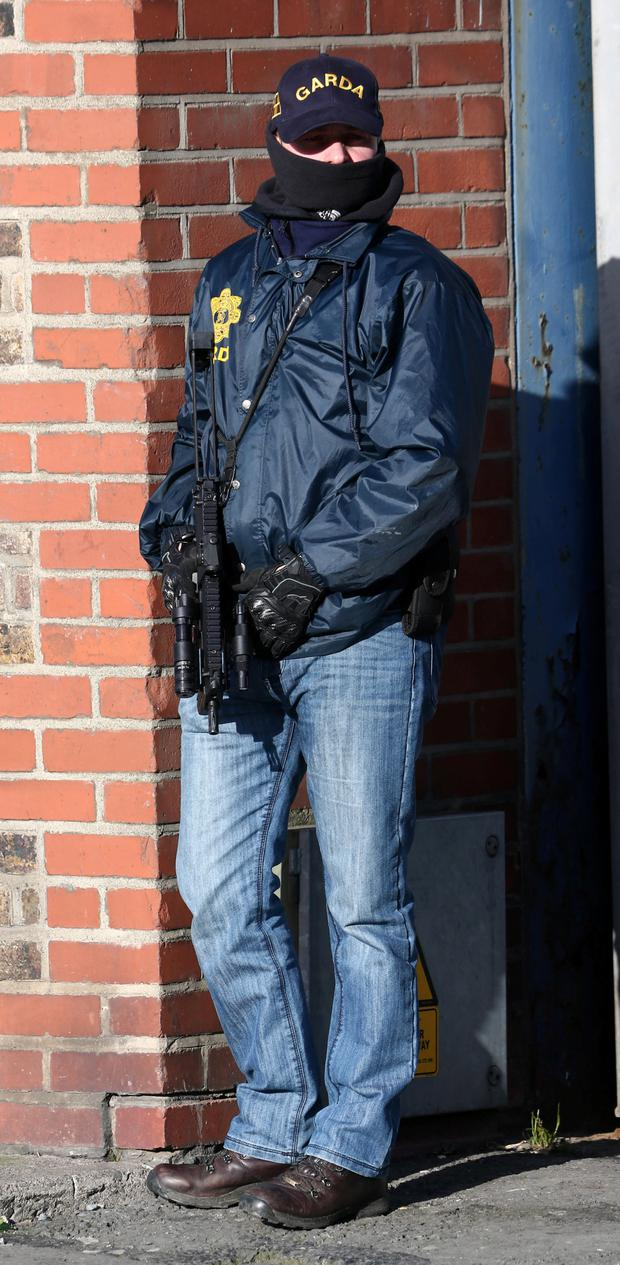 Armed gardai are specially trained to fight organised crime