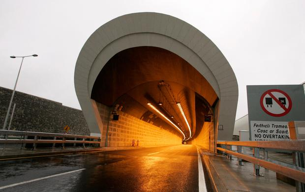 The latest road-safety technology will be used to track the average speed of drivers using the Port Tunnel