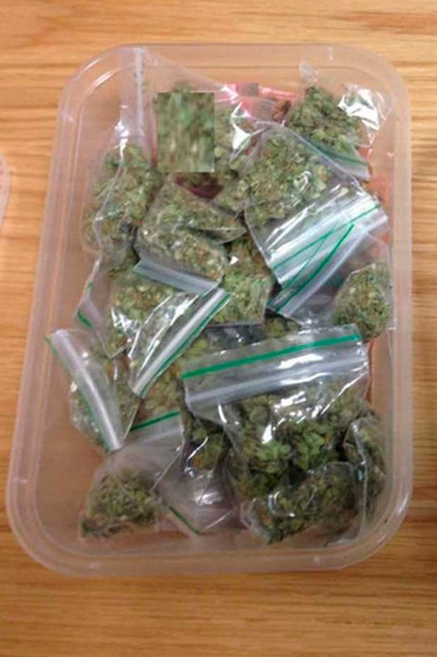 The drugs gardai discovered