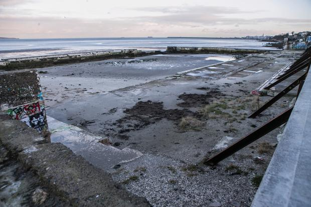 Water samples taken at Blackrock Baths revealed a high level of E.coli