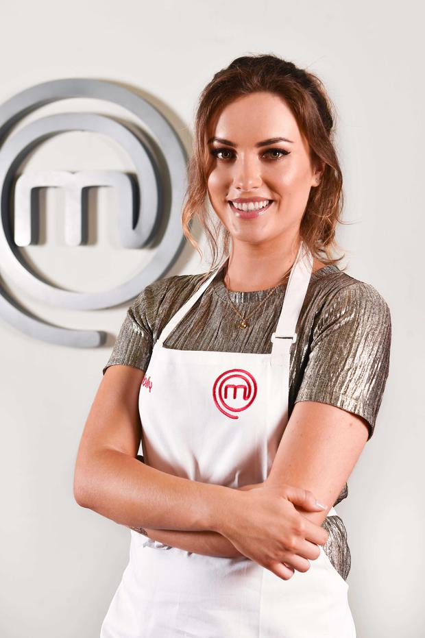 Holly Carpenter is the first to leave Celebrity MasterChef