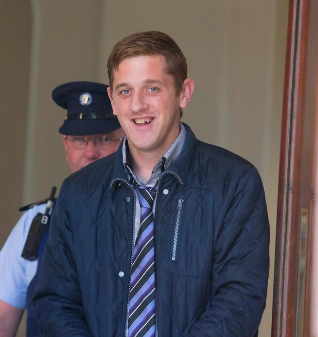 Patrick Gately was subjected to a savage beating in Mountjoy Prison on Monday