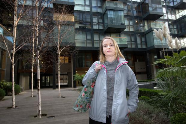 Resident Claire McAfee in Beacon South Quarter, Sandyford