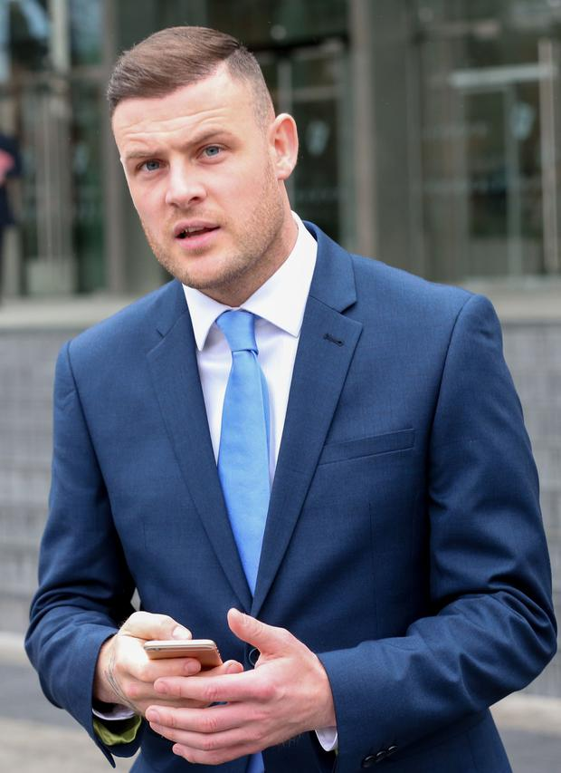 Anthony Stokes (pictured) assaulted Anthony Bradley