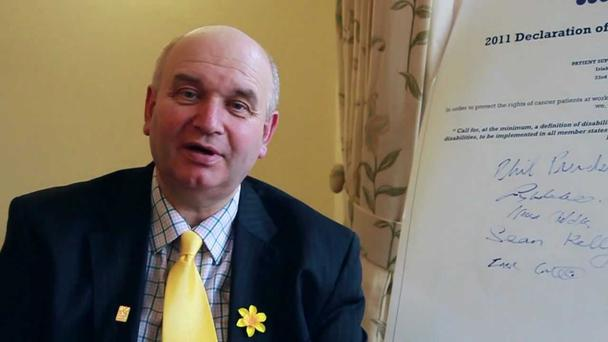 Irish Cancer Society boss John McCormack