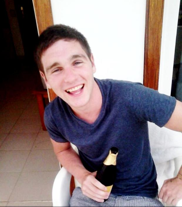 Lorcan O'Reilly was 21 when he was killed at a Halloween party
