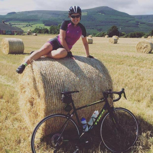 Heartbroken parents Brian and Pat said keen cyclist Tonya McEvoy died 'doing what she loved'