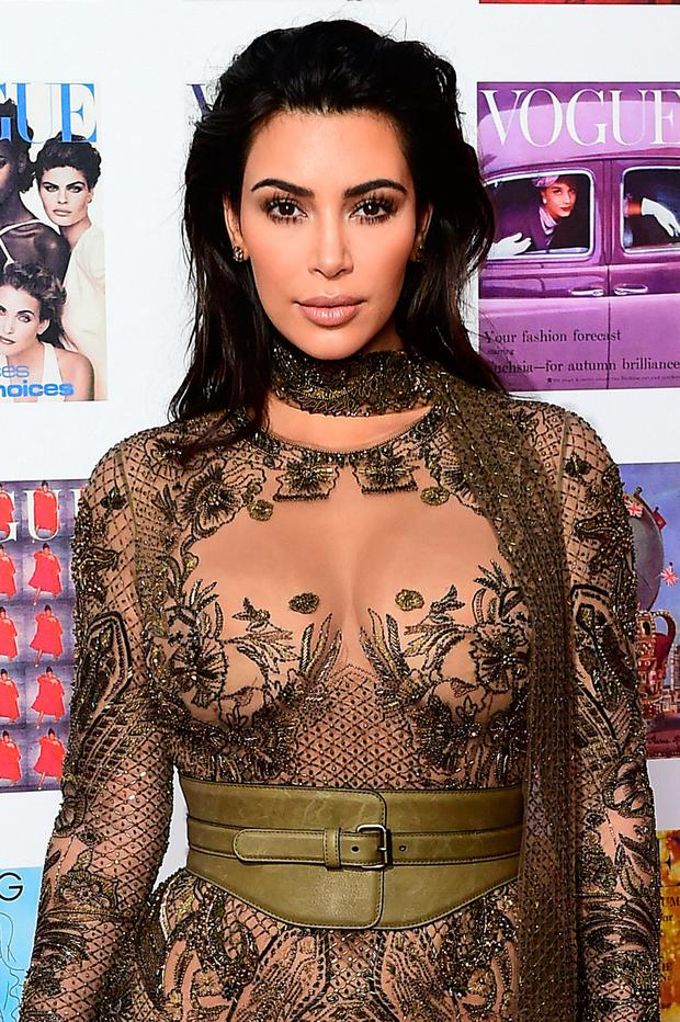Colin Saunders says it was 'fantastically' good news to see Kim Kardashian wearing clothing from his firm's website