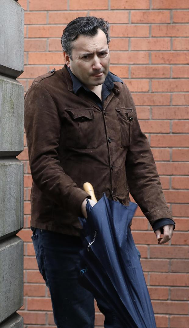 Darryl Downey has secured work earning €250 a week. Pic: Collins Courts
