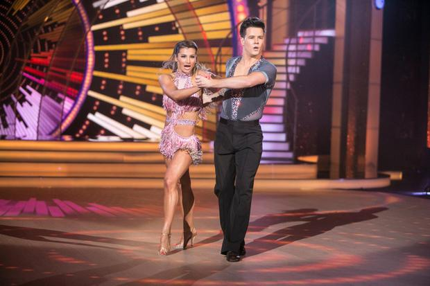 Dayl Cronin and Ksenia Zsikhotska won the dance-off