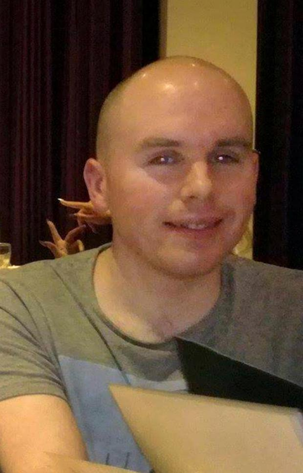Karl Robertson (28) who was knocked down by a van while out running in Artane. Photo: Frank Mc Grath