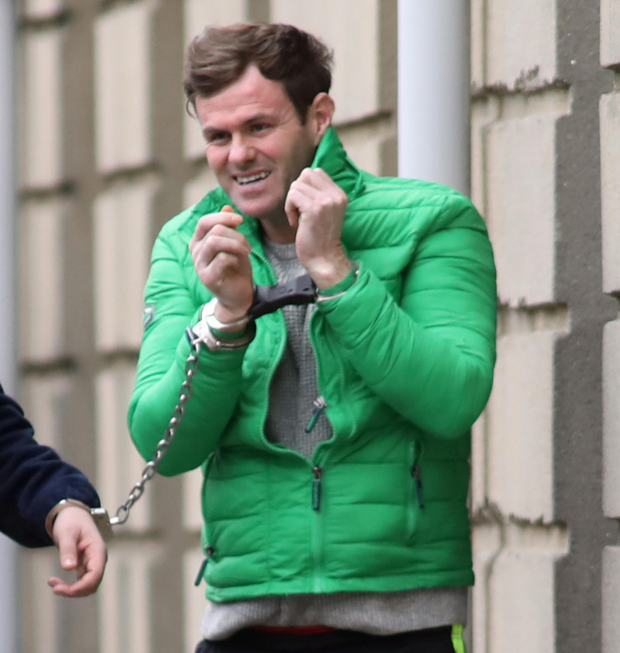 Former soldier Jonathan McSherry made threats to kill .Photo: Collins Courts