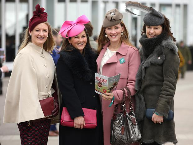 Gillian Walsh, Aisling Lawlor, Tamso Doyle and Emma Galway