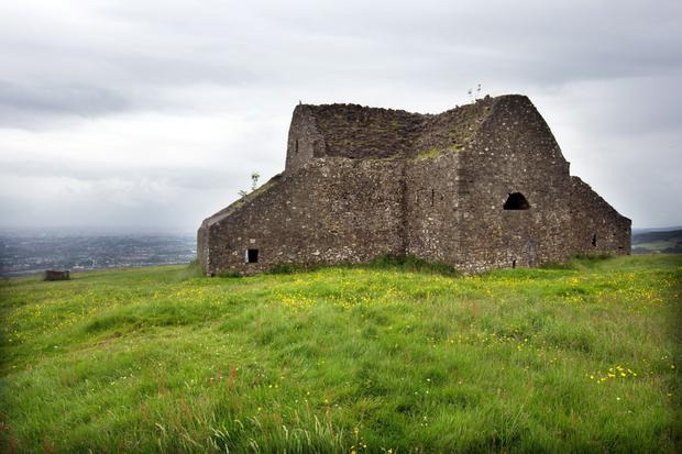 he Hell Fire Club in the Dublin Mountains