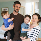 Leslie and Lynda Martin with sons Ciaran and Cathal, who have metachromatic leukodystrophy