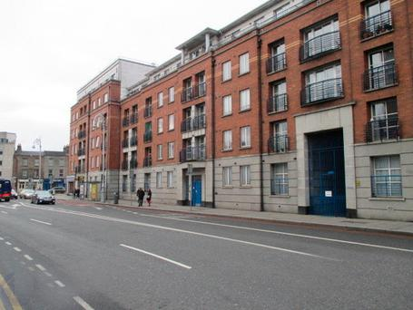 Patrick Street, the scene of the incident