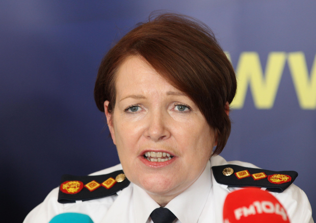 Garda chief Noirin O'Sullivan. Collins Photos