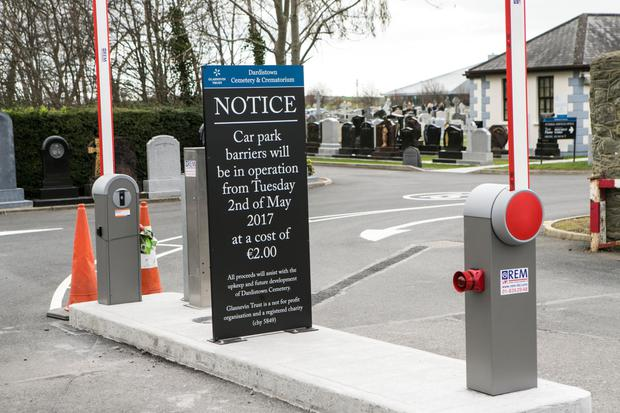 Dardistown Cemetery will begin charging for parking in May