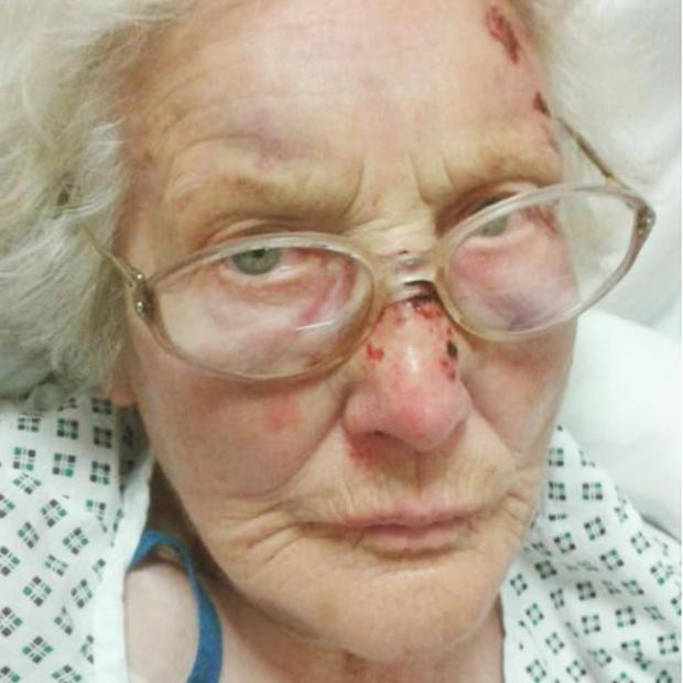 Eva Sutton described the attack as 'hour-and-a-half of hell'