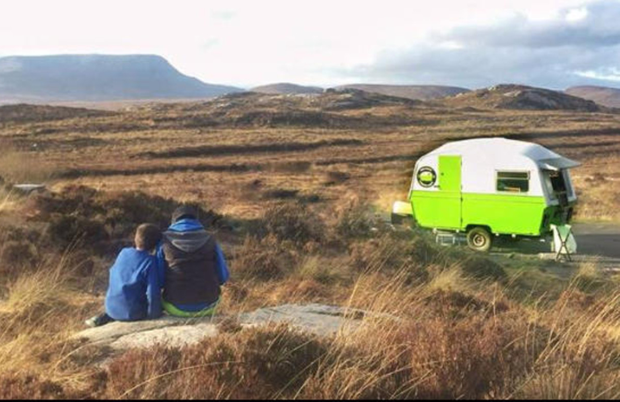 The Happy Camper in Donegal