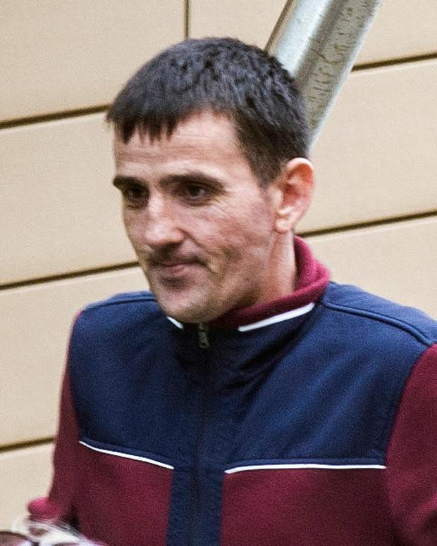 James Brady (38) who admitted assault and criminal damage