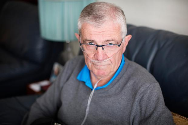 Gerry Finnerty fears he will soon lose access to Respreeza